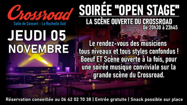 Open Stage de Novembre avec Mathieu Vivier et Quentin Breyton