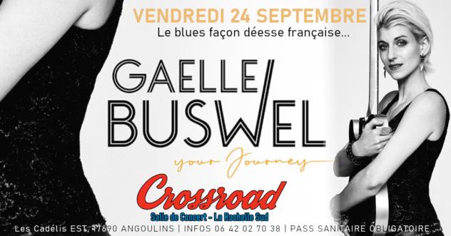 Concert : GAELLE BUSWEL - Your Journey Tour