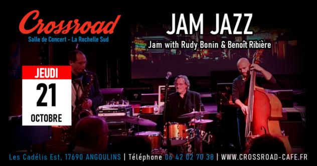 Jam Jazz w/ Rudy Bonin & Benoît Ribière