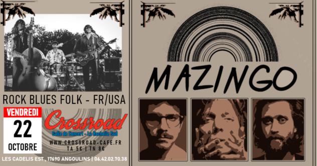 Concert : MAZINGO (FR-USA)