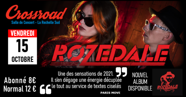 Concert : ROZEDALE | Rock