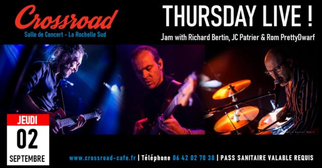 Thursday LIVE - JAM w/ Richard B. & Rom Prettydwarf
