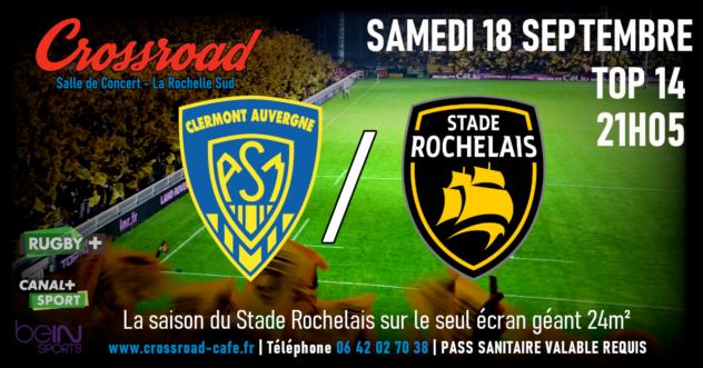 TOP 14 : Clermont - La Rochelle