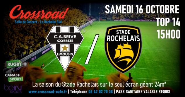 TOP14 : Brive - La Rochelle | 15h |