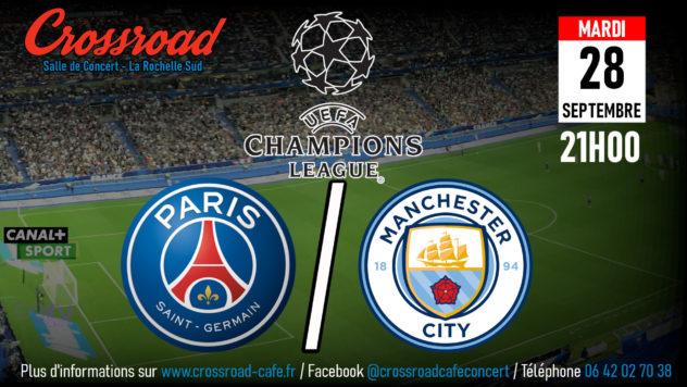 Ligue des Champions : PSG - Manchester City   21H  