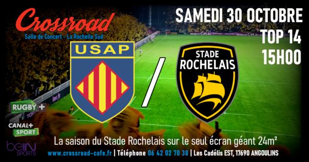TOP14 : Perpignan - La Rochelle   15h  
